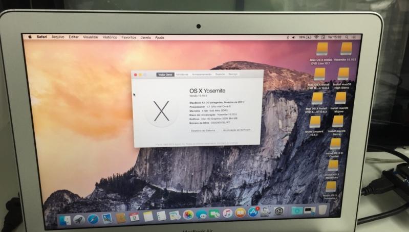Tela de Macbook Manutenção Lapa - Tela de Macbook