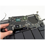 conserto placa mãe macbook pro Brooklin