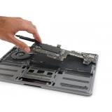 conserto placa mãe macbook pro