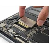 manutenção de placa mãe macbook