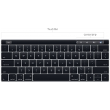 teclado macbook pro touch bar Guaianases