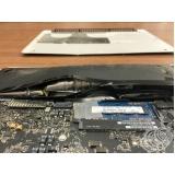 troca de bateria mac não carrega apple Sumaré
