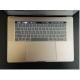 trocar teclado macbook pro touch bar Parque do Carmo